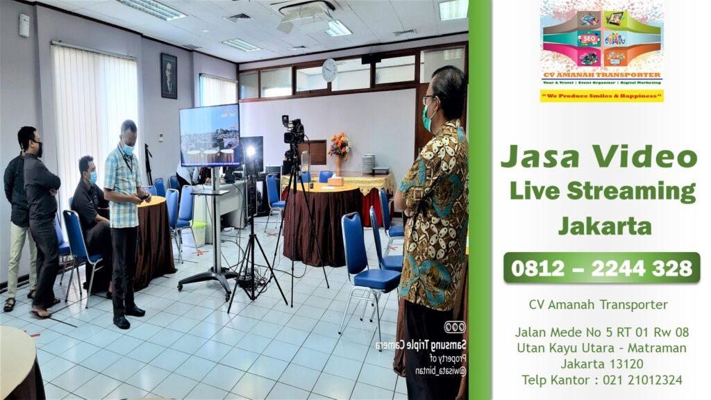 Paket Jasa Live Streaming Jakarta